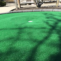 BIG NEWS - The Mini Golf Course has been re-carpeted and is open again for play!