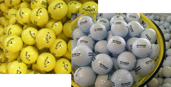 New range balls and water balls