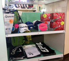 Buy your golf merchandise at Paradise