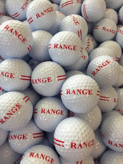 New balls have arrived. Please tell your friends and fellow golfers.