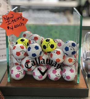 Callaway Soccer Golf Balls